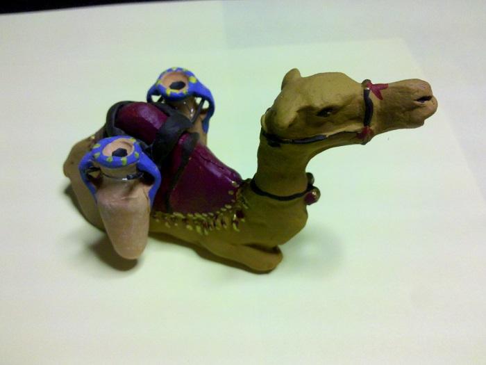 dromadaire poteries
